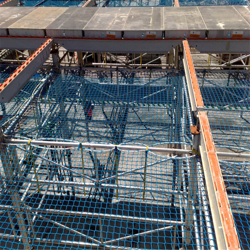 Fall arrest protection safety nets