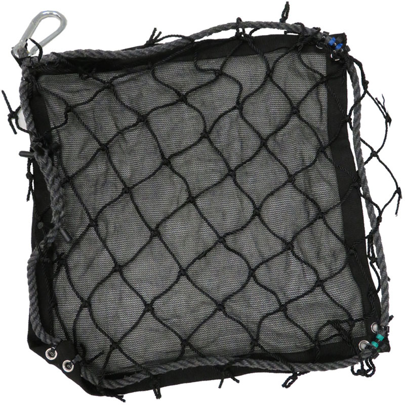 Personnel Safety Nets with Debris Liner