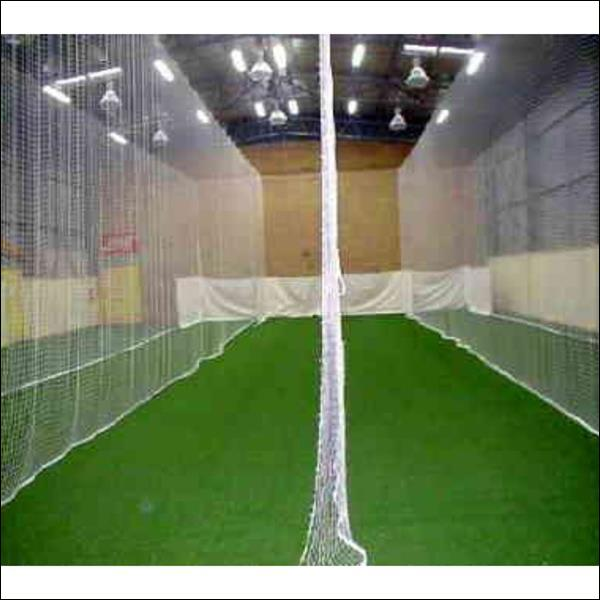Indoor Cricket Nets Tensioned Cage