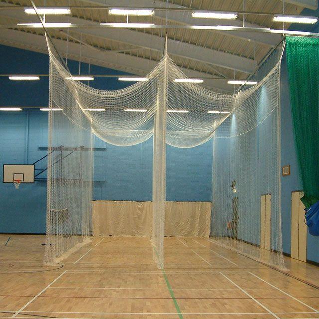 Indoor Cricket Nets Tensioned Cage