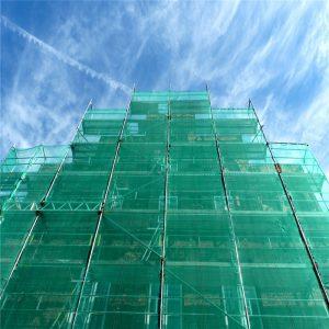 Green Safety Debris Netting