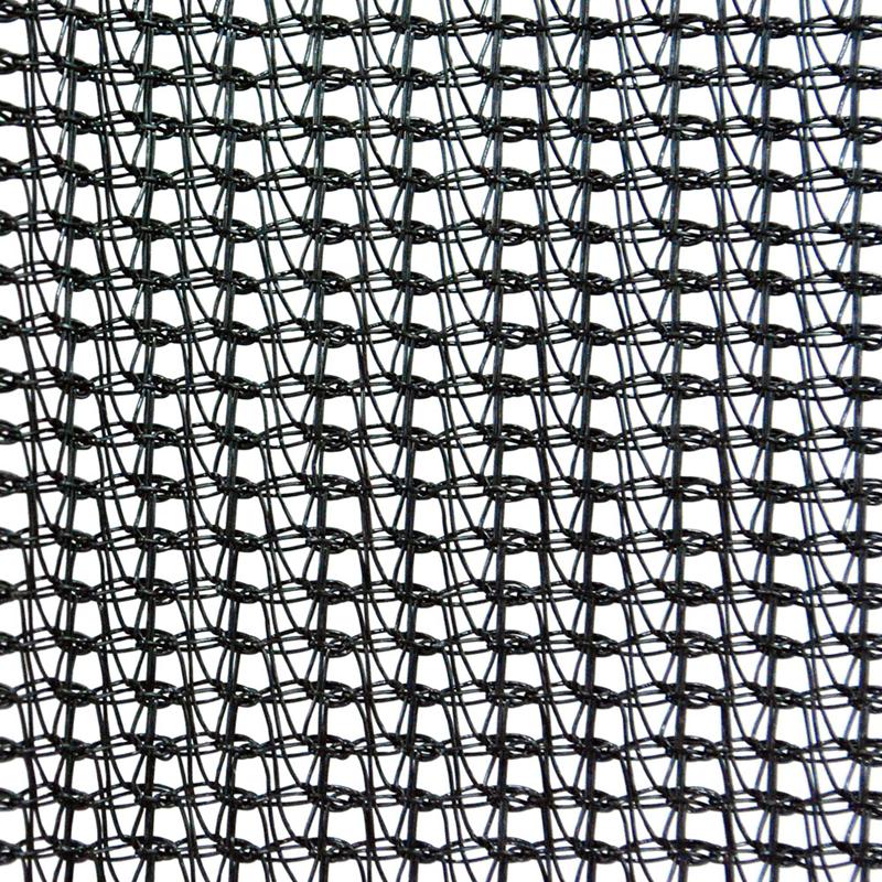 Construction Scaffolding Safety Debris Mesh Netting Vertical Black HDPE