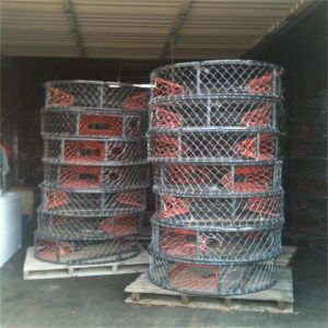 Crab trap , crab lobster trap , fishing net factory