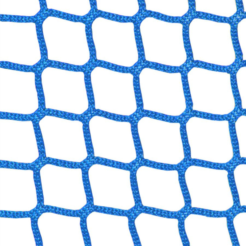 HTPP knotless stairs safety netting