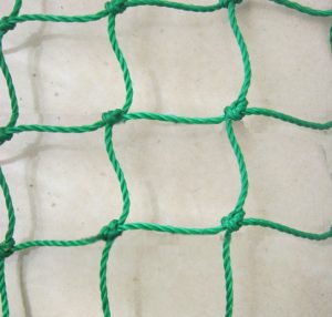 Knotted HDPE Green Cricket Nets
