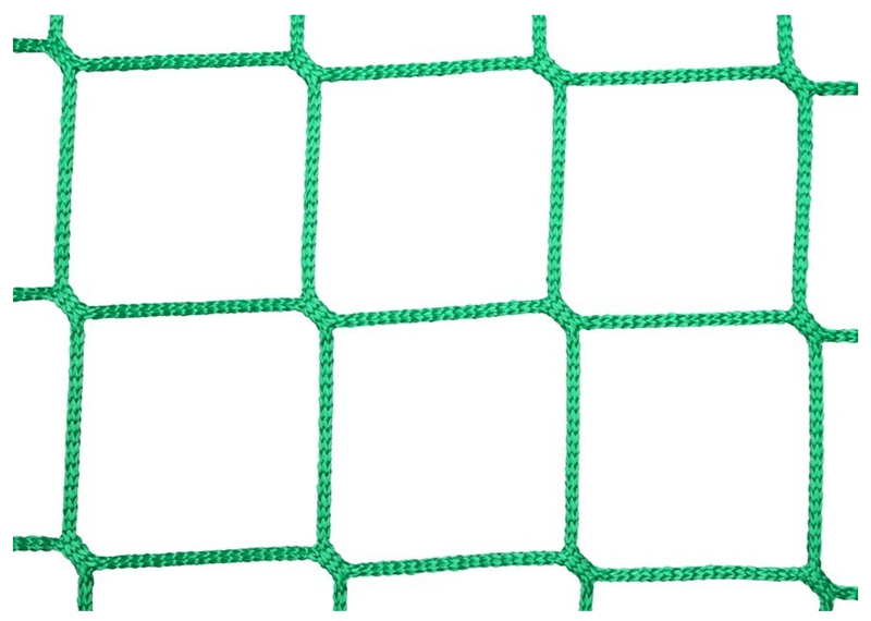 100mm Square Mesh And 6mm Cord HTPP Fall Protection Safety Netting