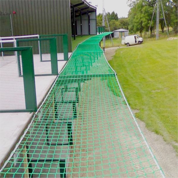 100mm Square Mesh And 5mm Cord HTPP Fall Protection Safety Netting