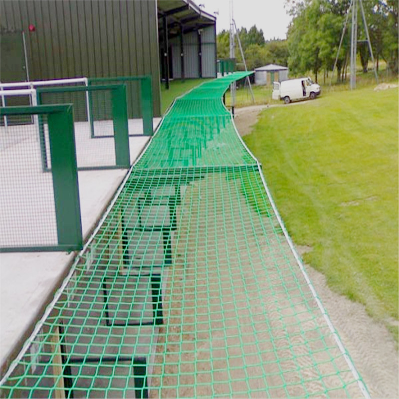 100mm Square Mesh And 5mm Cord HTPPFallProtectionSafetyNetting