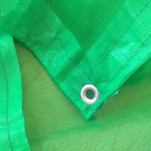Construction Safety Netting With Eyelets