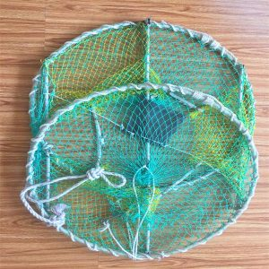 Collapsible Crab Shrimp Trap Fishing Net