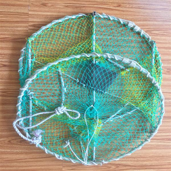 Collapsible Crab Shrimp Trap Fishing Net