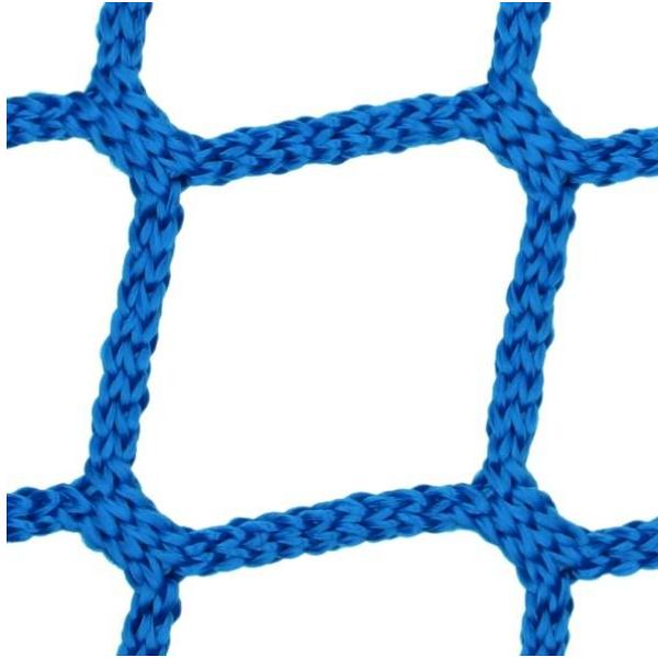 Polypropylene knotless net for light domes and skylights