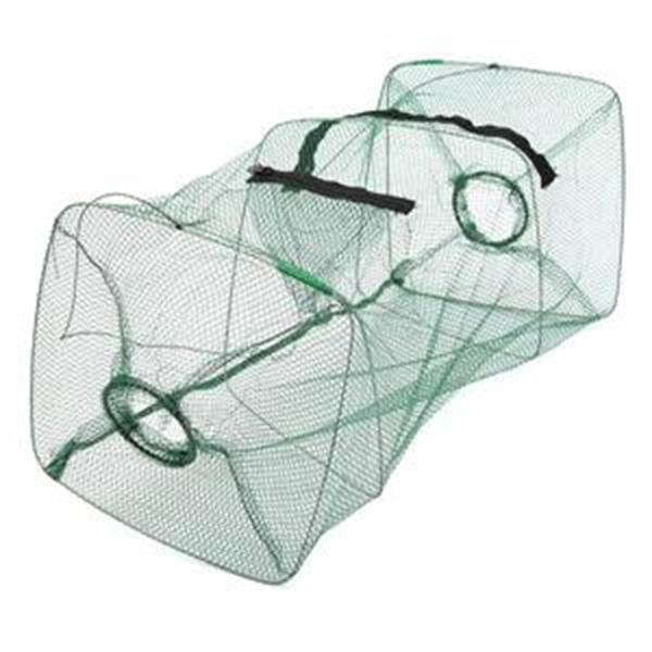 Foldable Fishing Bait Trap Cast Dip Net Cage Crab Fish Minnow Crawdad Shrimp