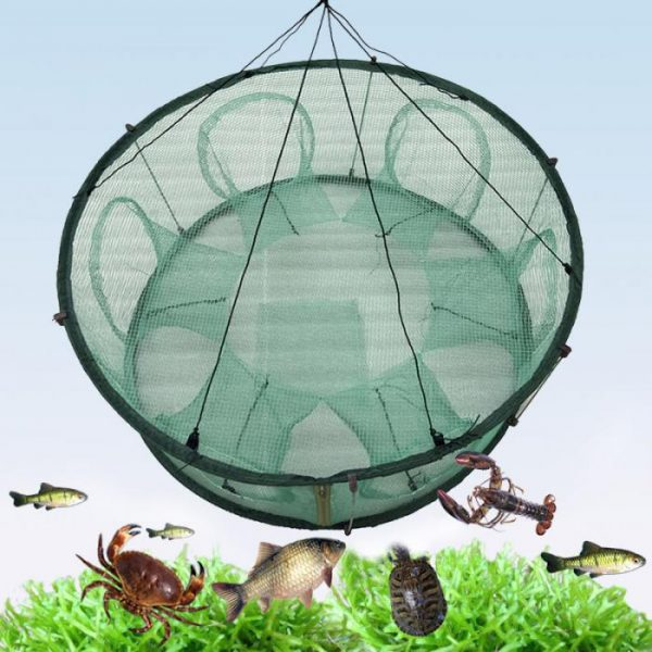 Automatic Fishing Net Trap Cage