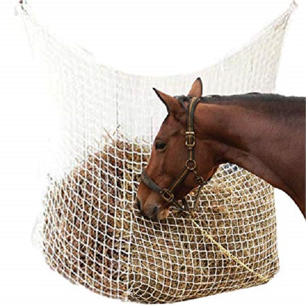 Hay Net Slow Feed Bag for Horse Feeder