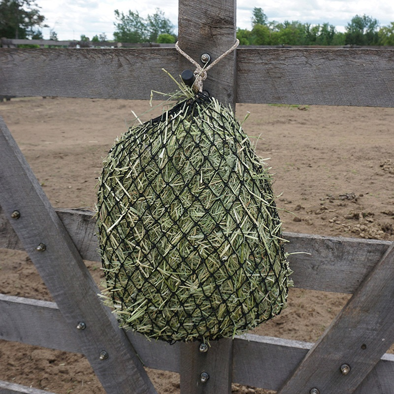 Round slow hay bale horse Hay Net