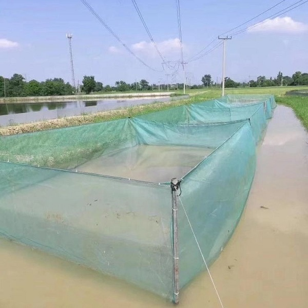 Hapa net for fishing farm