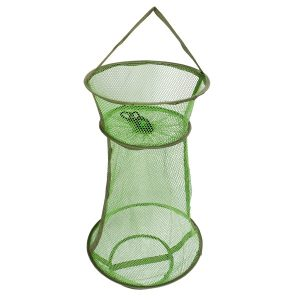 Foldable Steel Wire Net Crab Crawdad Cage