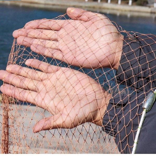 Nylon ring cast fishing nets