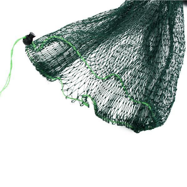 Foldable Drawstring Fishing Net Bag