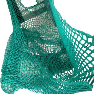 Hay net for round bags