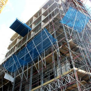 Double-layer fall protection netting(2)